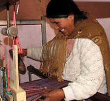 Creative Women - Bolivian Weaver