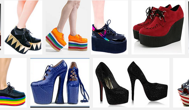 42b7b36496aa Fashion Archives  A Look at the History of Platform Shoes