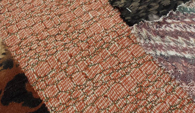 texworld USA trend gallery fabric swatches