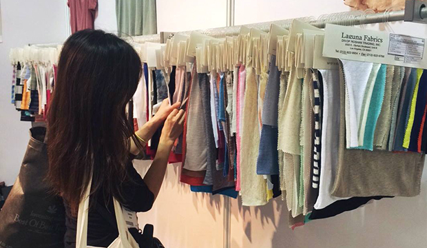 texworld usa fashion trade show exploration