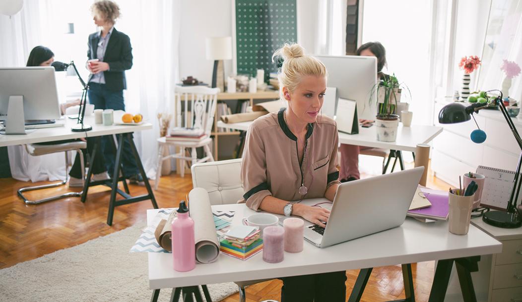 Fashion Businesswomen at Work