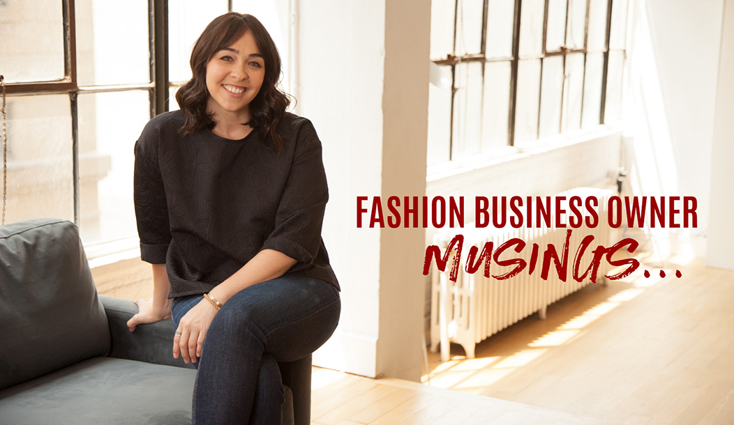 fashion business owner musings