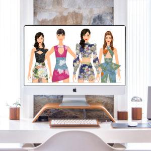 Fashion Design Pro Sketch Program Bundle