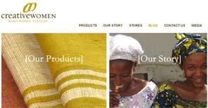creative women hand-woven textiles